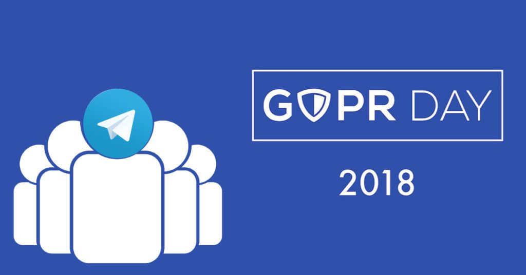community telegram gdpr day